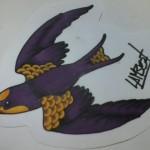 Ben Lambert Albany NY Lark Tattoo Drawing Color Sparrow