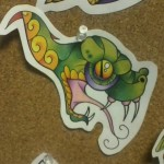Ben Lambert Albany NY New York LArk Tattoo Snake Drawing Color