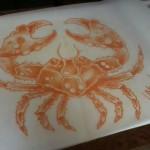 Lark Tattoo Albany NY Ben Lambert Crab Drawing