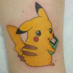 Ben Lambert Albany NY Lark Tattoo Albany Pikachu Pokemon tattoo