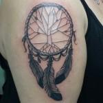 Lark Tattoo Albany NY Dreamcatcher Tattoo Black And Gray