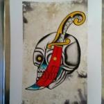 lark tattoo albany ny skull
