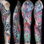 koi lotus sleeve matt c ellis