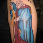 Lark Tattoo Albany NY Kyle Lavorgna Color Hermit Tarot
