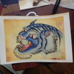 watercolor painting lark albany ny