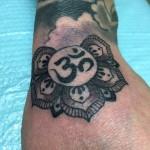 Lark Tattoo Albany NY Kyle Lavorgna Mandala Om Flower