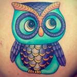 Heather Martin Owens owl cartoon