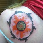 Lark Tattoo Albany NY Kyle Lavorgna Color Rabbits Sun