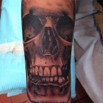 peewee_anthonysinerco_blackandgray_realistic_skull