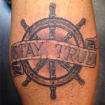 peewee_anthonysinerco_blackandgray_ship_sailor_lettering_staytrue_shipwheel