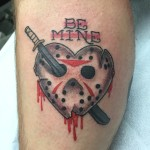 Lark Tattoo Albany NY Kyle Lavorgna Jason Voorhees Machete Heart