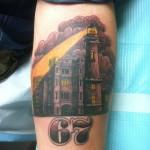 Lark Tattoo Albany Kyle Lavorgna Spotlight Black and Gray