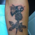 Lark Tattoo Albany NY Kyle Lavorgna Black And Gray Bumble Bee