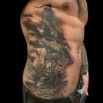 ocean, oceantattoo, ship, shiptattoo, boat, boattattoo, pirate, piratetattoo, pirateship, pirateshiptattoo, bng, bngtattoo, blackandgraytattoo, blackandgreytattoo, tattoo, tattoos, tat, tats, tatts, tatted, tattedup, tattoist, tattooed, inked, inkedup, ink, tattoooftheday, amazingink, bodyart, tattooig, tattoosofinstagram, instatats , larktattoo, larktattoos, larktattoowestbury, westbury, longisland, NY, NewYork, usa, art, peewee, peeweetattoo
