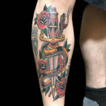 colortattoo, traditional, traditionaltattoo, dagger, daggertattoo, snake, snaketattoo, traditionaldagger, traditionaldaggertattoo, traditionalsnake, traditionalsnaketattoo, traditionaltattooartist, legtattoo, rose, rosetattoo, traditionalrose, traditionalrosetattoo, tattoo, tattoos, larktattoo, tat, tats, tatts, tatted, tattedup, tattoist, tattooed, inked, inkedup, ink, tattoooftheday, amazingink, bodyart, tattooig, tattoosofinstagram, instatats , larktattoos, larktattoowestbury, westbury, longisland, NY, NewYork, usa, art