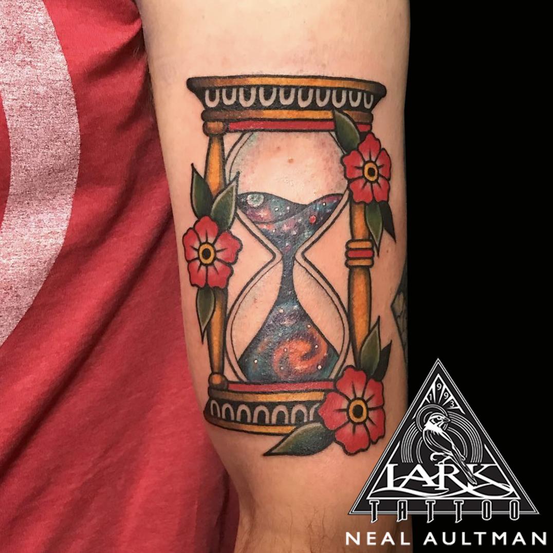 #traditional #traditionaltattoo #space #spacetattoo #spacetime #spacetimetattoo #hourglass #hourglasstattoo #spacetimecontinuum #spacetimecontinuumtattoo #tattoo #tattoos #tat #tats #tatts #tatted #tattedup #tattoist #tattooed #inked #inkedup #ink #tattoooftheday #amazingink #bodyart #tattooig #tattoosofinstagram #instatats #larktattoo #larktattoos #larktattoowestbury #westbury #longisland #NY #NewYork #usa #art