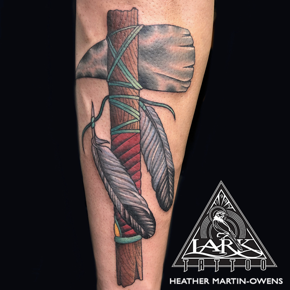 tomahawk, tomahawktattoo, colortattoo, colortattoos, neotraditional, neotraditionaltattoo, neotraditionaltattoos, neotraditionaltattooer, neotraditionaltattooers, feather, feathertattoo, femaletattooer, femaletattooist, tattoo, tattoos, tat, tats, tatts, tatted, tattedup, tattoist, tattooed, inked, inkedup, ink, tattoooftheday, amazingink, bodyart, tattooig, tattoosofinstagram, instatats , larktattoo, larktattoos, larktattoowestbury, westbury, longisland, NY, NewYork, usa, art