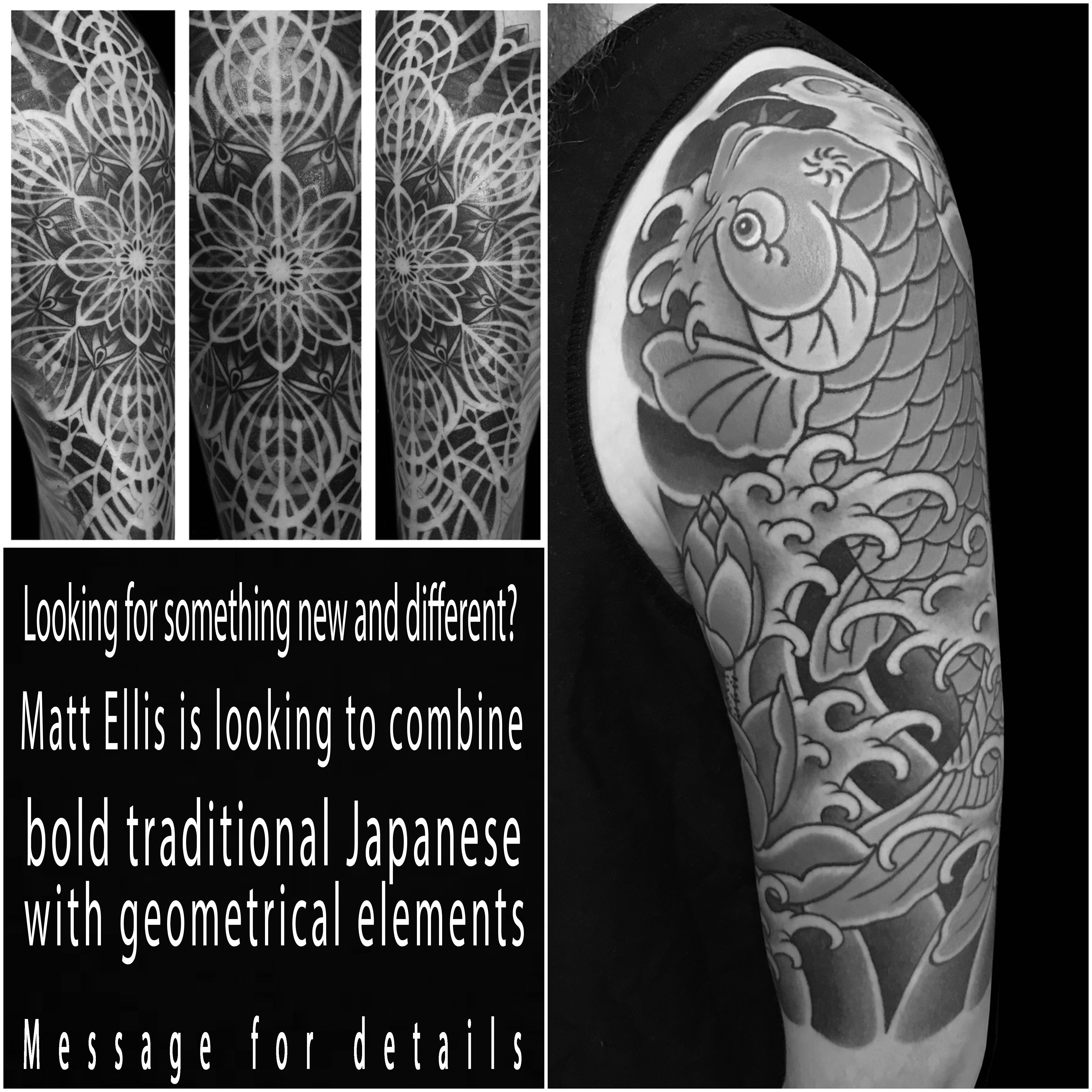 #Japanese #Japanesetattoo #traditionalJapanese #traditionalJapanesetattoo #geometrical #geometricaltattoo #tattoo #tattoos #tat #tats #tatts #tatted #tattedup #tattoist #tattooed #inked #inkedup #ink #tattoooftheday #amazingink #bodyart #tattooig #tattoosofinstagram #instatats #larktattoo #larktattoos #larktattoowestbury #westbury #longisland #NY #NewYork #usa #art #matt #ellis #mattellis #mattcellis