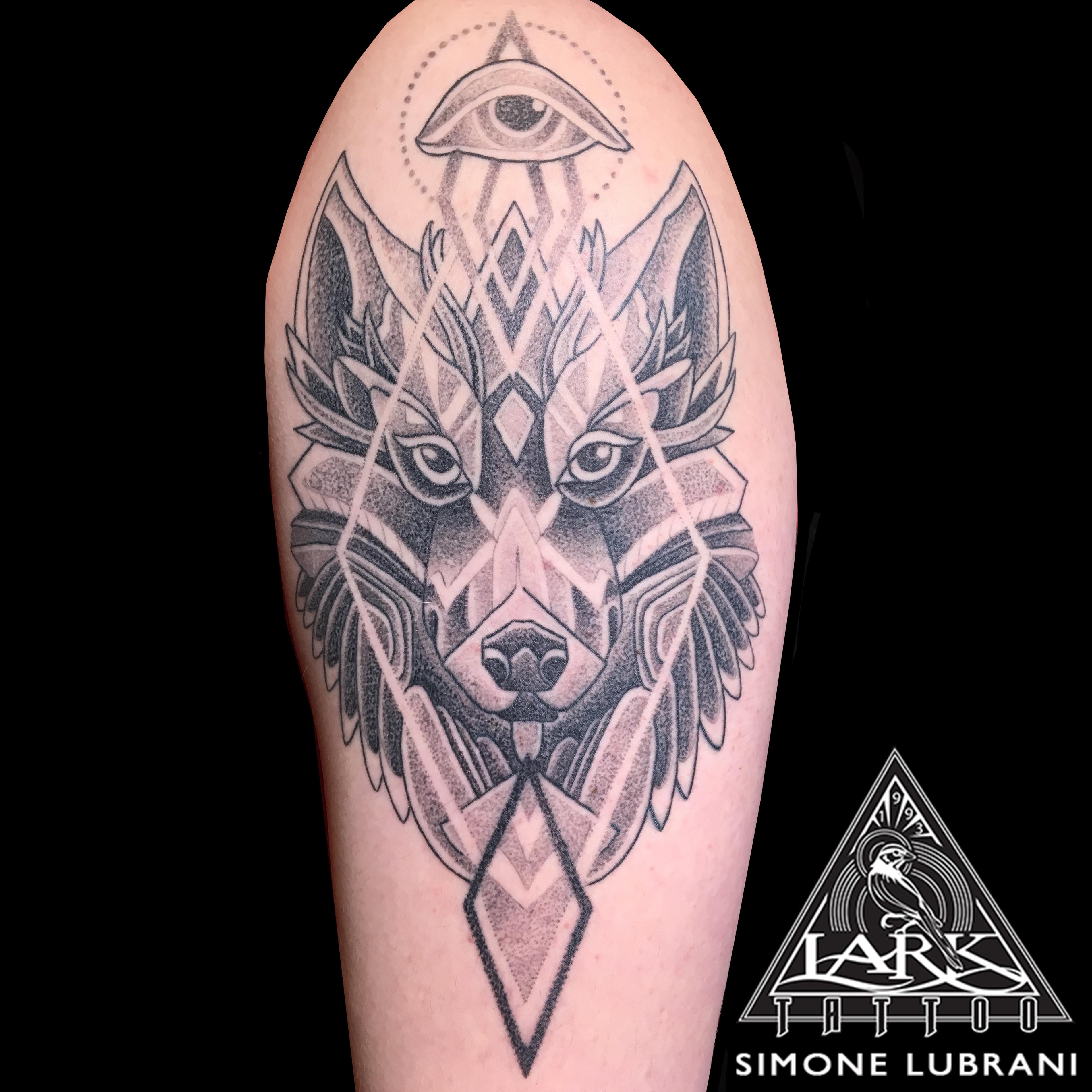 #blackwork #blackworktattoo #geometric #geometrictattoo #wolf #wolftattoo #dotwork #dotworktattoo #armtattoo #bng #bngtattoo #blackandgraytattoo #blackandgreytattoo #tattoo #tattoos #tat #tats #tatts #tatted #tattedup #tattoist #tattooed #inked #inkedup #ink #tattoooftheday #amazingink #bodyart #tattooig #tattoosofinstagram #instatats #larktattoo #larktattoos #larktattoowestbury #westbury #longisland #NY #NewYork #usa #art
