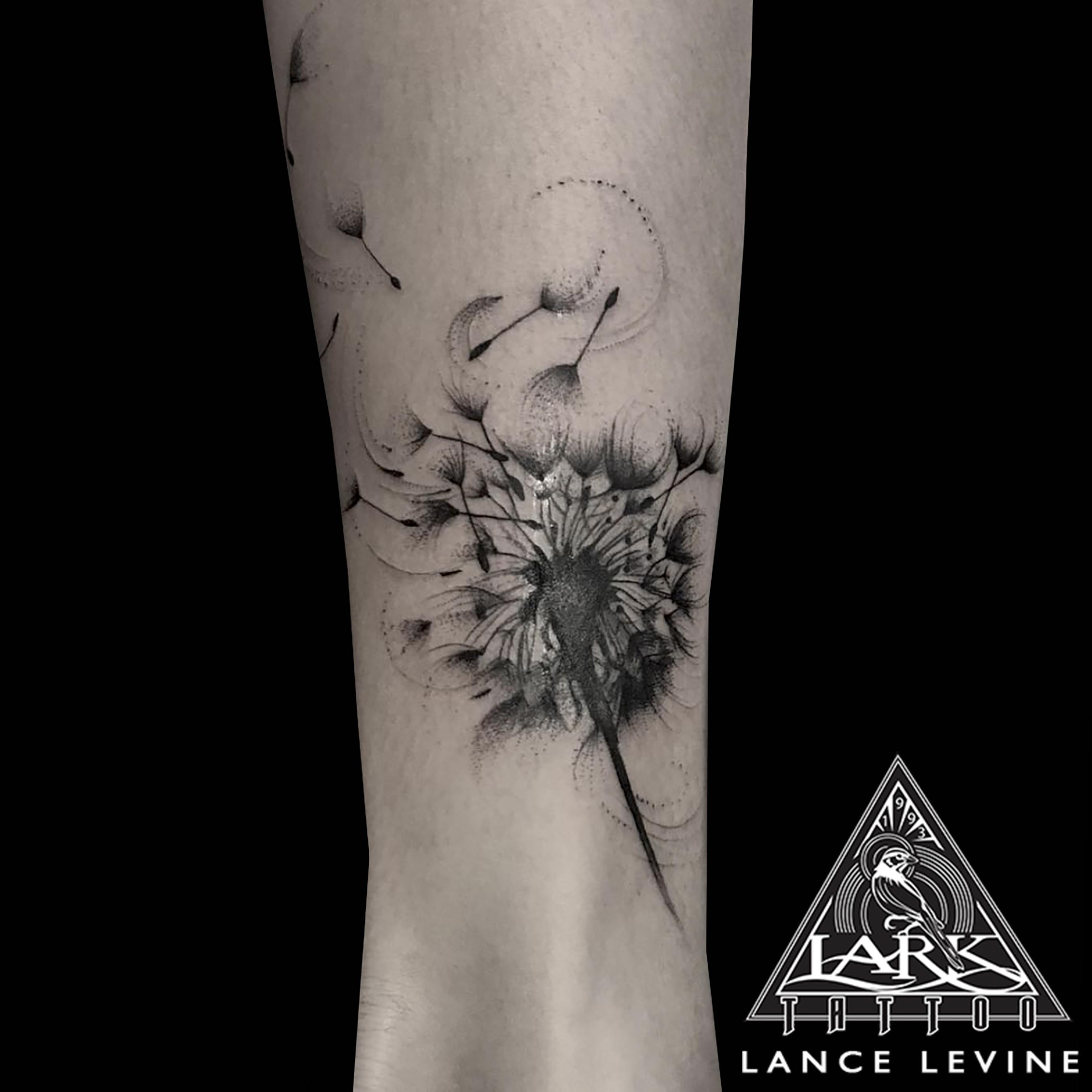 dandelion, dandeliontattoo, dandelionflower, dandelionflowertattoo, flower, flowertattoo, bng, bngtattoo, bnginksociety, blackandgraytattoo, blackandgreytattoo, tattoo, tattoos, tat, tats, tatts, tatted, tattedup, tattoist, tattooed, inked, inkedup, ink, tattoooftheday, amazingink, bodyart, tattooig, tattoosofinstagram, instatats , larktattoo, larktattoos, larktattoowestbury, westbury, longisland, NY, NewYork, usa, art, lance, levine, lancelevine