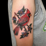 #color #colortattoo #bird #birdtattoo #traditional #traditionaltattoo #cardinal #cardinaltattoo #cardinalbird #traditionalcardinal #traditionalcardinaltattoo #tattoo #tattoos #tat #tats #tatts #tatted #tattedup #tattoist #tattooed #inked #inkedup #ink #tattoooftheday #amazingink #bodyart #tattooig #tattoosofinstagram #instatats #larktattoo #larktattoos #larktattoowestbury #westbury #longisland #NY #NewYork #usa #art #neal #aultman #nealaultman
