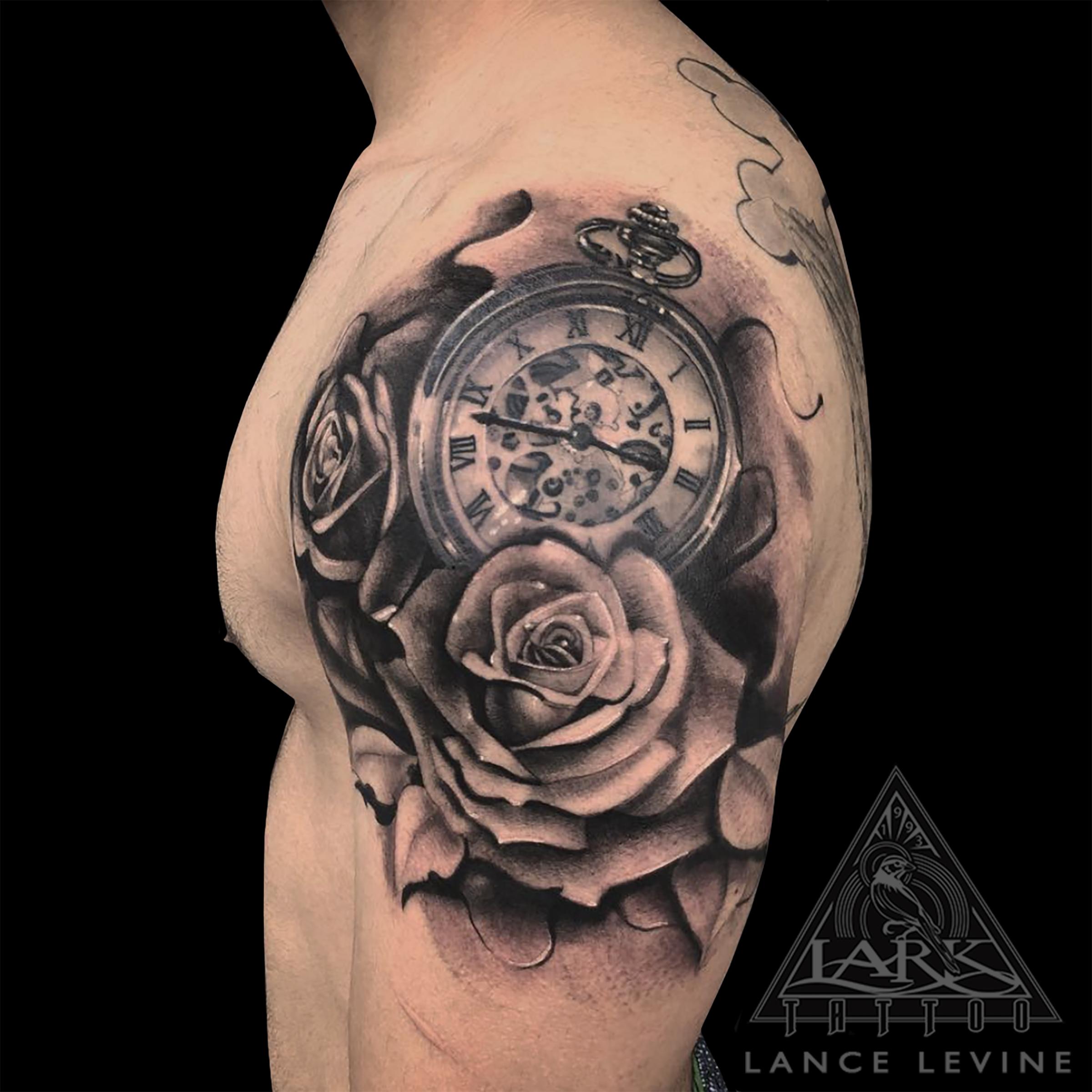bng, bngtattoo, blackandgraytattoo, blackandgreytattoo, bngink, bnginksociety, rose, roses, rosetattoo, rosestattoo, pocketwatch, pocketwatchtattoo, armtattoo, halfsleeve, halfsleevetattoo, realistictattoo, realismtattoo, clocktattoo, watchtattoo, tattoo, tattoos, tat, tats, tatts, tatted, tattedup, tattoist, tattooed, inked, inkedup, ink, tattoooftheday, amazingink, bodyart, tattooig, tattoosofinstagram, instatats , larktattoo, larktattoos, larktattoowestbury, westbury, longisland, NY, NewYork, usa, art