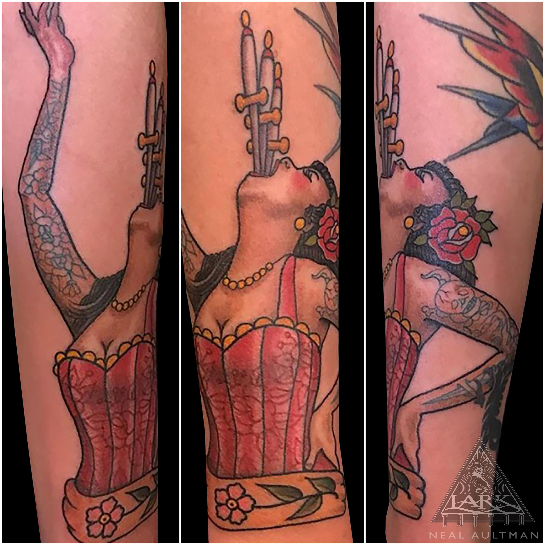 circus, circustattoo, swordswallower, swordswallowertattoo, colortattoo, traditionaltattoo, sideshow, sideshowtattoo, tattooswithtattoos, swordswallowing, swordswallowingtattoo, tattoo, tattoos, tat, tats, tatts, tatted, tattedup, tattoist, tattooed, inked, inkedup, ink, tattoooftheday, amazingink, bodyart, tattooig, tattoosofinstagram, instatats , larktattoo, larktattoos, larktattoowestbury, westbury, longisland, NY, NewYork, usa, art