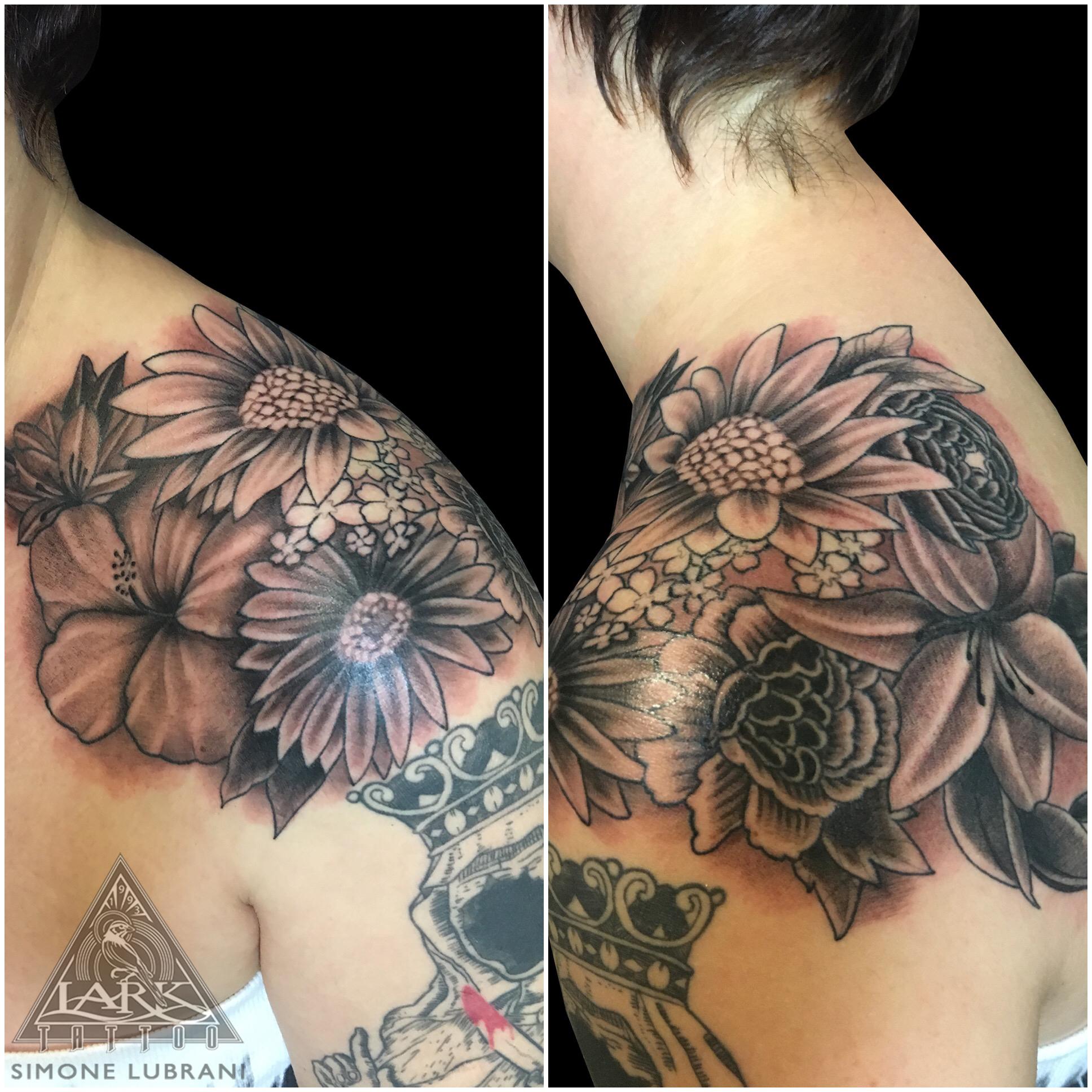 bng, bngtattoo, blackandgraytattoo, blackandgreytattoo, bngink, bnginksociety, flower, flowertattoo, flowers, flowerstattoo, shouldertattoo, tattoo, tattoos, tat, tats, tatts, tatted, tattedup, tattoist, tattooed, inked, inkedup, ink, tattoooftheday, amazingink, bodyart, tattooig, tattoosofinstagram, instatats , larktattoo, larktattoos, larktattoowestbury, westbury, longisland, NY, NewYork, usa, art