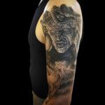 Medusa, MedusaTattoo, ClashOfTheTitans, ClashOfTheTitansTattoo, Peggasus, PeggasusTattoo, BNG, BNGTattoo, BlackAndGrayTattoo, BlackAndGreyTattoo, RealisticTattoo, PortraitTattoo, MovieTattoo, LarkTattoo, tattoo, tattoos, tat, tats, tatts, tatted, tattedup, tattoist, tattooed, inked, inkedup, ink, tattoooftheday, amazingink, bodyart, tattooig, tattoosofinstagram, instatats , larktattoos, larktattoowestbury, westbury, longisland, NY, NewYork, usa, art