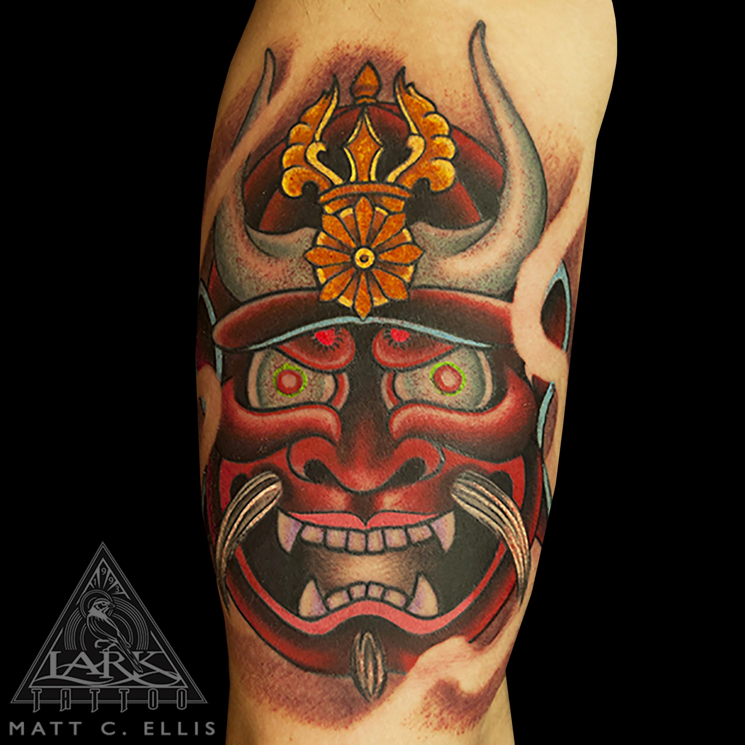 #Japanese #JapaneseTattoo #Oni #OniTattoo #OniMask #OniMaskTattoo #Samurai #SamuraiTattoo #SamuraiMask #SamuraiMaskTattoo #JapaneseDevil #JapaneseDevilTattoo #JapaneseDevilMask #JapaneseDevilMaskTattoo #ColorTattoo #tattoo #tattoos #tat #tats #tatts #tatted #tattedup #tattoist #tattooed #inked #inkedup #ink #tattoooftheday #amazingink #bodyart #tattooig #tattoosofinstagram #instatats #larktattoo #larktattoos #larktattoowestbury #westbury #longisland #NY #NewYork #usa #art