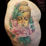 #Buddha #BuddhaTattoo #ColorTattoo #HipTattoo #GoldenBuddha #GoldenBuddhaTattoo #Peony #PeonyTattoo #LonIslandTattooArtist #LadyTattooers #FeminineTattoo #FemaleArtist #FemaleTattooArtist #FemaleTattooer #tattoo #tattoos #tat #tats #tatts #tatted #tattedup #tattoist #tattooed #inked #inkedup #ink #tattoooftheday #amazingink #bodyart #larktattoo #larktattoos #larktattoowestbury #westbury #longisland #NY #NewYork #usa #art