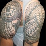 #tribal #tribaltattoo #Polynesian #Polynesian #halfsleeve #halfsleevetattoo #Maori #MaoriTattoo #tattoo #tattoos #tat #tats #tatts #tatted #tattedup #tattoist #tattooed #inked #inkedup #ink #tattoooftheday #amazingink #bodyart #larktattoo #larktattoos #larktattoowestbury #westbury #longisland #NY #NewYork #usa #art