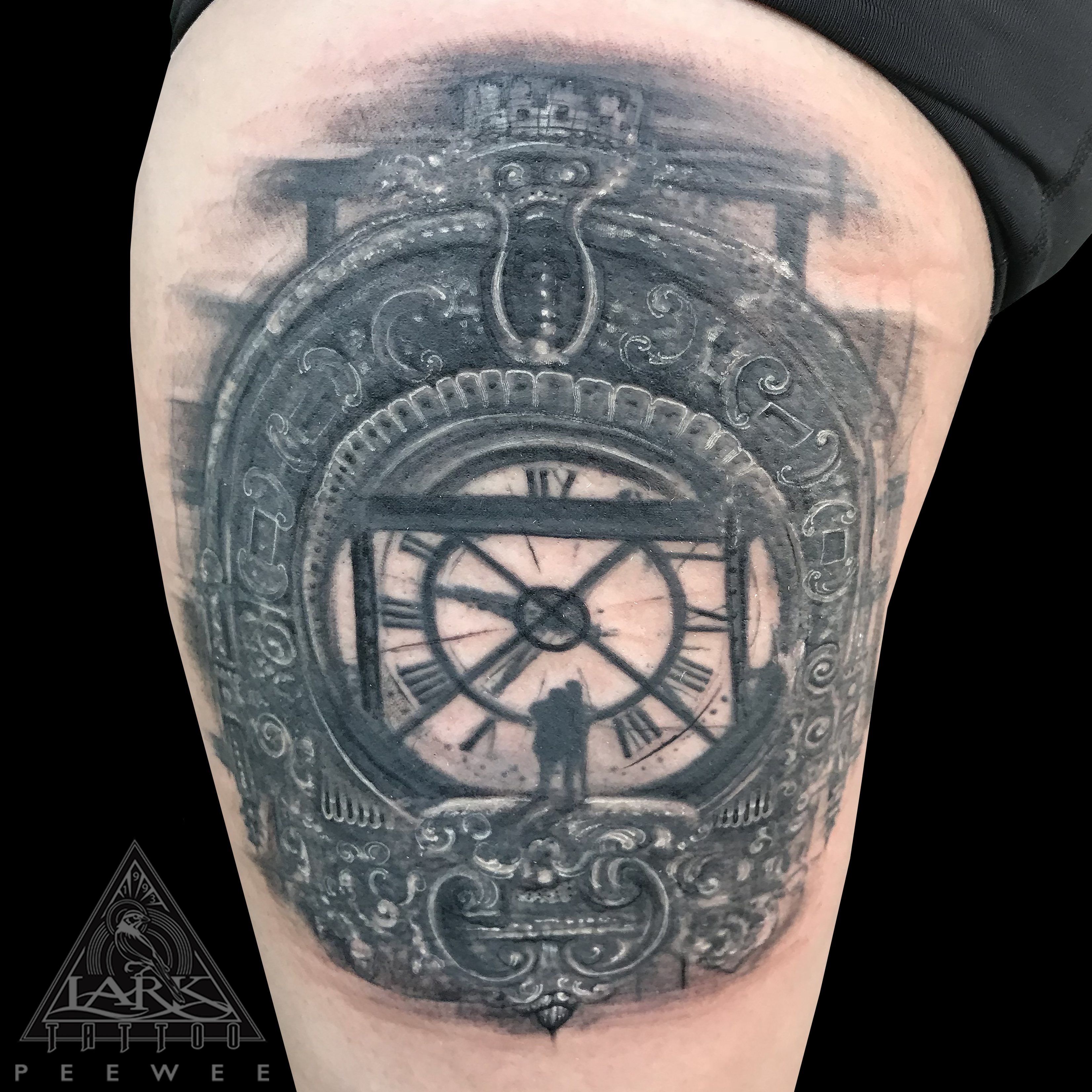 blackandgreytattoo, blackandgraytattoo, bngtattoo, bnginksociety, tattoosocial, pocketwatch, pocketwatchtattoo, scroll, scrollwork, scrollworktattoo, couple, coupletattoo, tattoo, tattoos, tat, tats, tatts, tatted, tattedup, tattoist, tattooed, inked, inkedup, ink, tattoooftheday, amazingink, bodyart, larktattoo, larktattoos, larktattoowestbury, westbury, longisland, NY, NewYork, usa, art