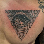 #eye #eyetattoo #graphictattoo #blackwork #blackworktattoo #chesttattoo #linework #lineworktattoo #bookplate #bookplatetattoo #triangle #triangletattoo #peewee #peeweetats #tattoo #tattoos #tat #tats #tatts #tatted #tattedup #tattoist #tattooed #inked #inkedup #ink #tattoooftheday #amazingink #bodyart #larktattoo #larktattoos #larktattoowestbury #westbury #longisland #NY #NewYork #usa #art