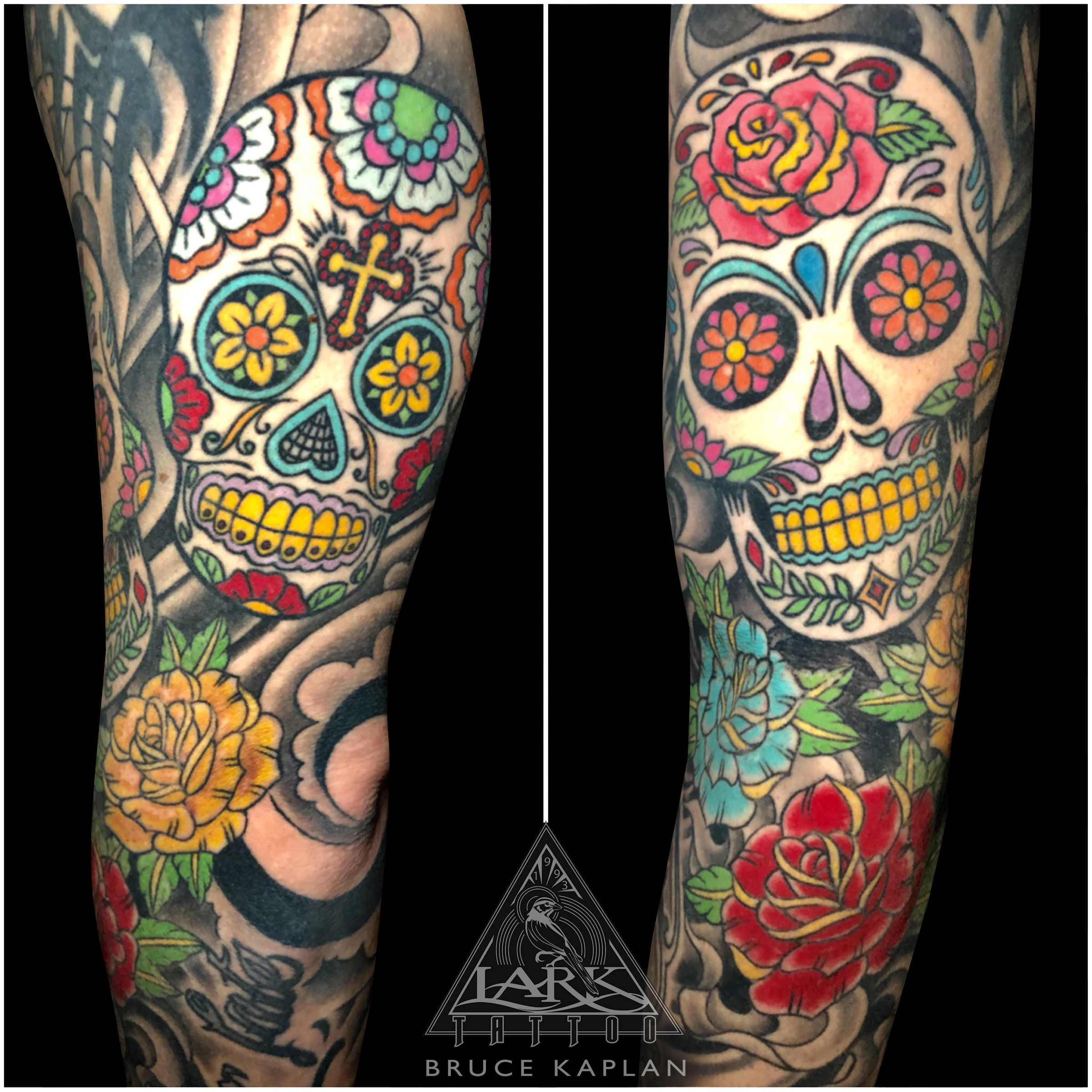 #Calavera #CalaveraTattoo #SugarSkull #SugarSkullTattoo #DayOfTheDead #DayOfTheDeadTattoo #AllSoulsDay #AllSoulsDayTattoo #DíaDeMuertos #DíaDeMuertosTattoo #DiaDeMuertos #DiaDeMuertosTattoo #Skull #SkullTattoo #Rose #RoseTattoo #Cross #CrossTattoo #ArmTattoo #TattooSleeve #ColorTattoo #LarkTattoo #tattoo #tattoos #tat #tats #tatts #tatted #tattedup #tattoist #tattooed #inked #inkedup #ink #tattoooftheday #amazingink #bodyart #larktattoos #larktattoowestbury #westbury #longisland #NY #NewYork #usa #art