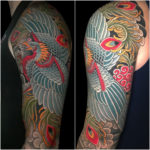 #Japanese #JapaneseTattoo #TraditionalJapaneseTattoo #JapanesePheonix #JapanesePheonixTattoo #Pheonix #PheonixTattoo #ArmTattoo #TattooSleeve #TattooHalfSleeve #ColorTattoo #JapaneseArt #LarkTattoo #tattoo #tattoos #tat #tats #tatts #tatted #tattedup #tattoist #tattooed #inked #inkedup #ink #tattoooftheday #amazingink #bodyart #larktattoos #larktattoowestbury #westbury #longisland #NY #NewYork #usa #art
