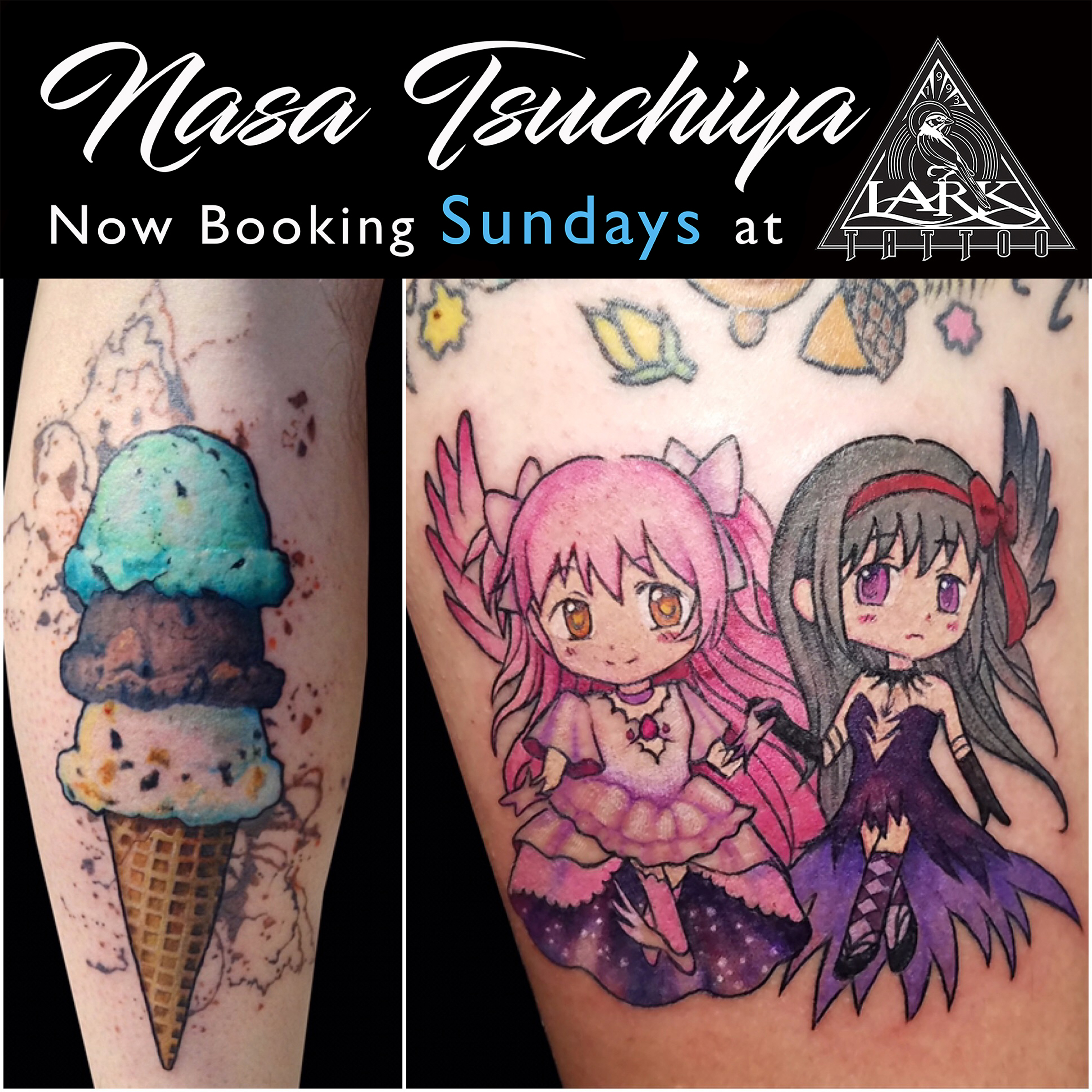 #watercolor #watercolortattoo #icecream #icecreamtattoo #ColorTattoo #CuteTattoo #Cartoon #CartoonTattoo #cutetattoo #anime #animetattoo #colorfultattoo #FemaleArtist #FemaleTattooer #LadyTattooer #LarkTattoo #TattooedPeople #TattooStuff #BodyCanvas #TattooStyle #ColorTattoo #PrettyTattoo #PrettyTattoos #ColorfulTattoo #tattoo #tattoos #tat #tats #tatts #tatted #tattedup #tattoist #tattooed #inked #inkedup #ink #tattoooftheday #amazingink #bodyart #larktattoowestbury