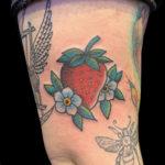 #Strawberry #StrawberryTattoo #ColorTattoo #CuteTattoo #FruitTattoo #TraditionalTattoo #ArmTattoo #tattoo #tattoos #tat #tats #tatts #tatted #tattedup #tattoist #tattooed #inked #inkedup #ink #tattoooftheday #amazingink #bodyart #larktattoo #larktattoos #larktattoowestbury #westbury #longisland #NY #NewYork #usa #art