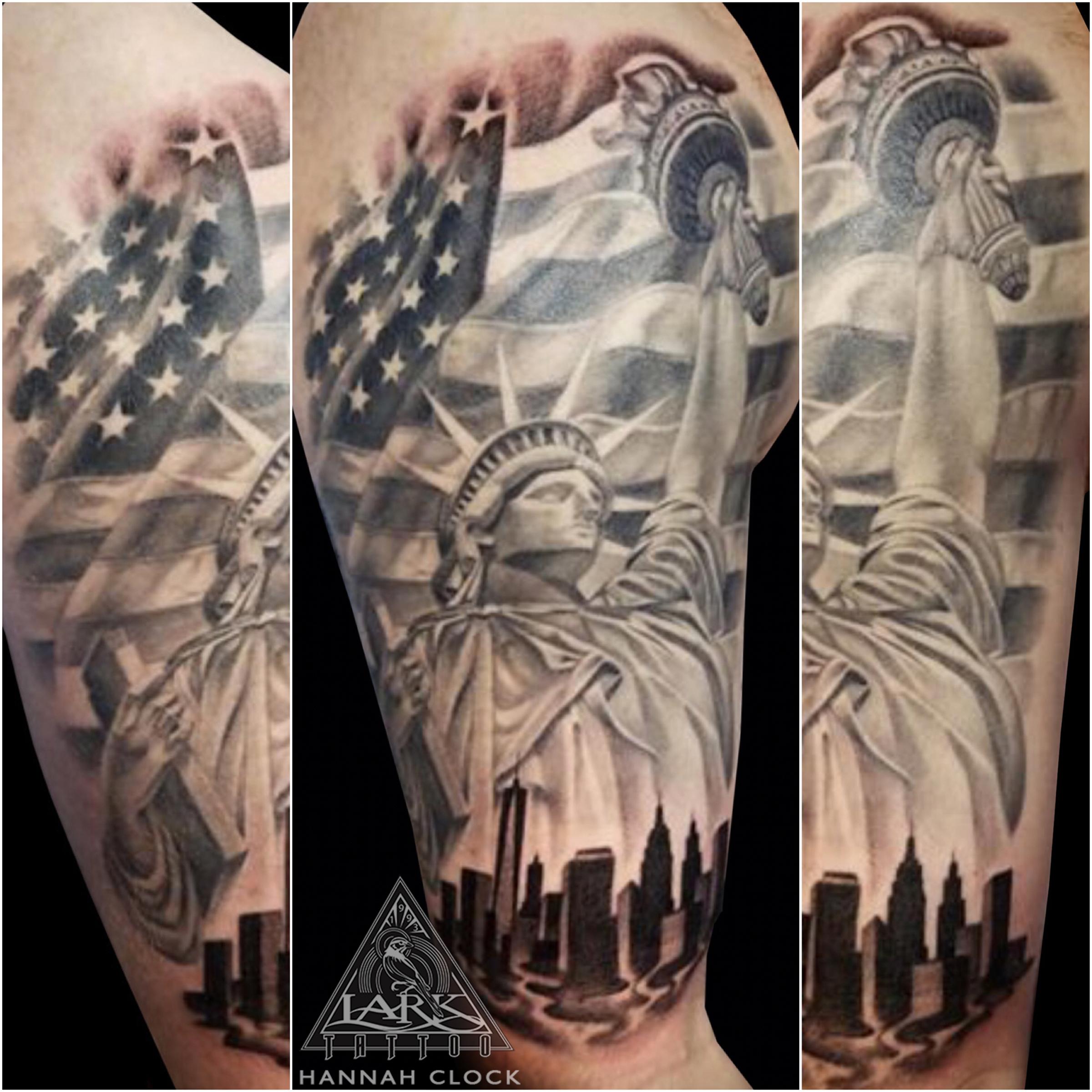 #LarkTattoo #StatueOfLiberty #StatueOfLibertyTattoo #Americana #AmericanaTattoo #America #AmericaTattoo #NYC #NYCTattoo #Flag #FlagTattoo #AmericanFlag #AmericanFlagTattoo #HalfSleeve #HalfSleeveTattoo #LadyTattooer #LadyTattooers #LadyTattooArtist #FemaleTattooer #FemaleTattooArtist #FemaleArtist #BNG #BNGInk #BNGTattoo #BlackAndGray #BlackAndGrayTattoo #BlackAndGrey #BlackAndGreyTattoo #Tattoo #Tattoos #Tat #Tats #Tatts #Tatted #Tattedup #Tattoist #Tattooed #Inked #InkedUp #Ink #TattooOfTheDay #AmazingInk #BodyArt #LongIslandTattooArtist #LongIslandTattooer #LarkTattoos #LarkTattooWestbury #Westbury #LongIsland #NY #NewYork #USA #Art