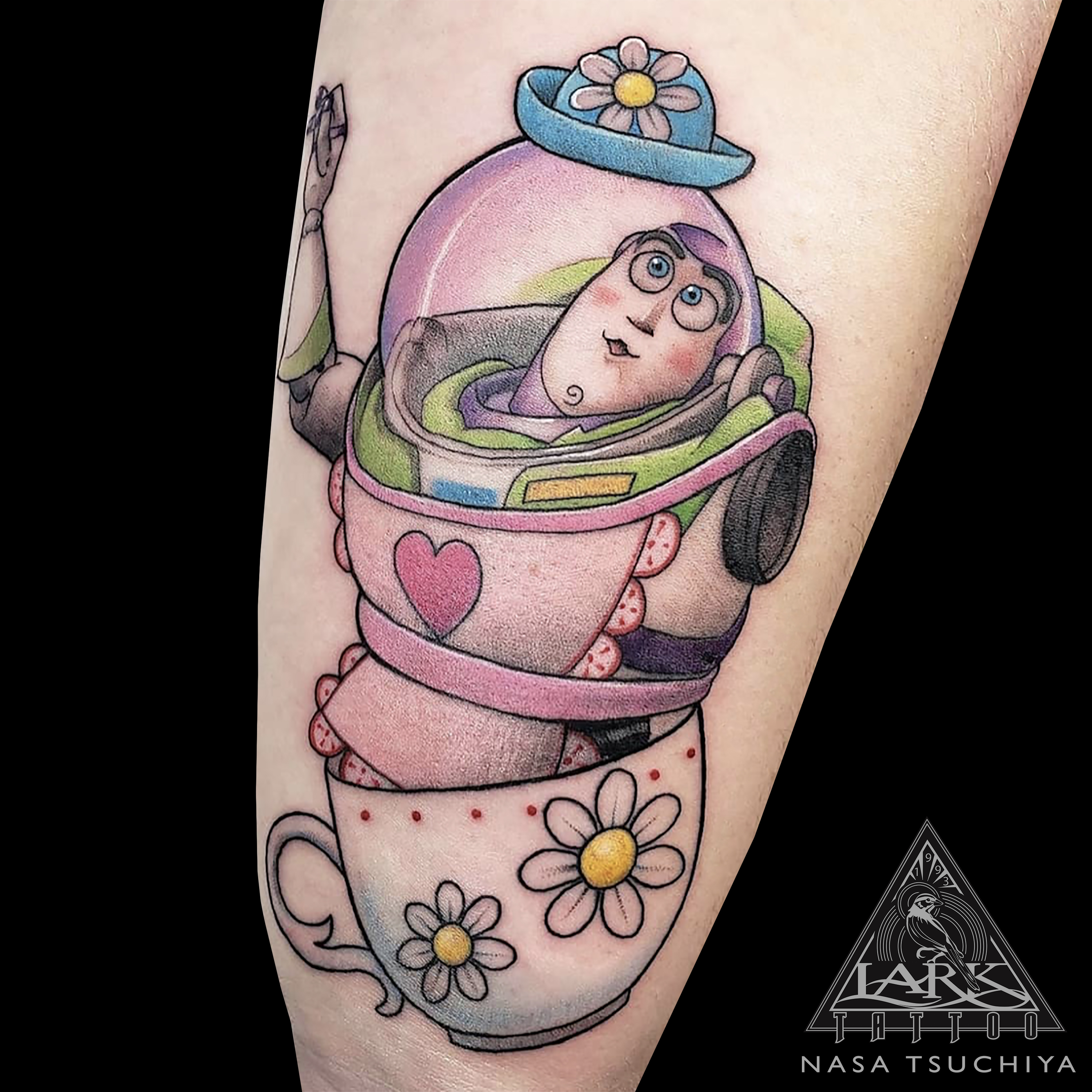#LarkTattoo #Tattoo #Tattoos #MrsNesbitt #MrsNesbittTattoo #IAmMrsNesbitt #IAmMrsNesbittTattoo #Nesbitt #NesbittTattoo #IThinkYouveHadEnoughTeaForToday #SnapOutOfItBuzz #TellMeTheHatLooksGood #Buzz #BuzzTattoo #BuzzLightyear #BuzzLightyearTattoo #ToyStory #ToyStoryTattoo #SpaceRanger #SpaceRangerTattoo #TimAllen #TimAllenTattoo #Pixar #PixarTattoo #ColorTattoo #CartoonTattoo #TattooArtist #LongIslandTattooArtist #LongIslandTattooer #LongIslandTattoo #Tattoist #Tattooer #TattooOfTheDay #Tat #Tats #Tatts #Tatted #Inked #Ink #TattooInk #AmazingInk #AmazingTattoo #BodyArt #LarkTattooWestbury #Westbury #LongIsland #NY #NewYork #USA #Art #Tattedup #InkedUp #LarkTattoos
