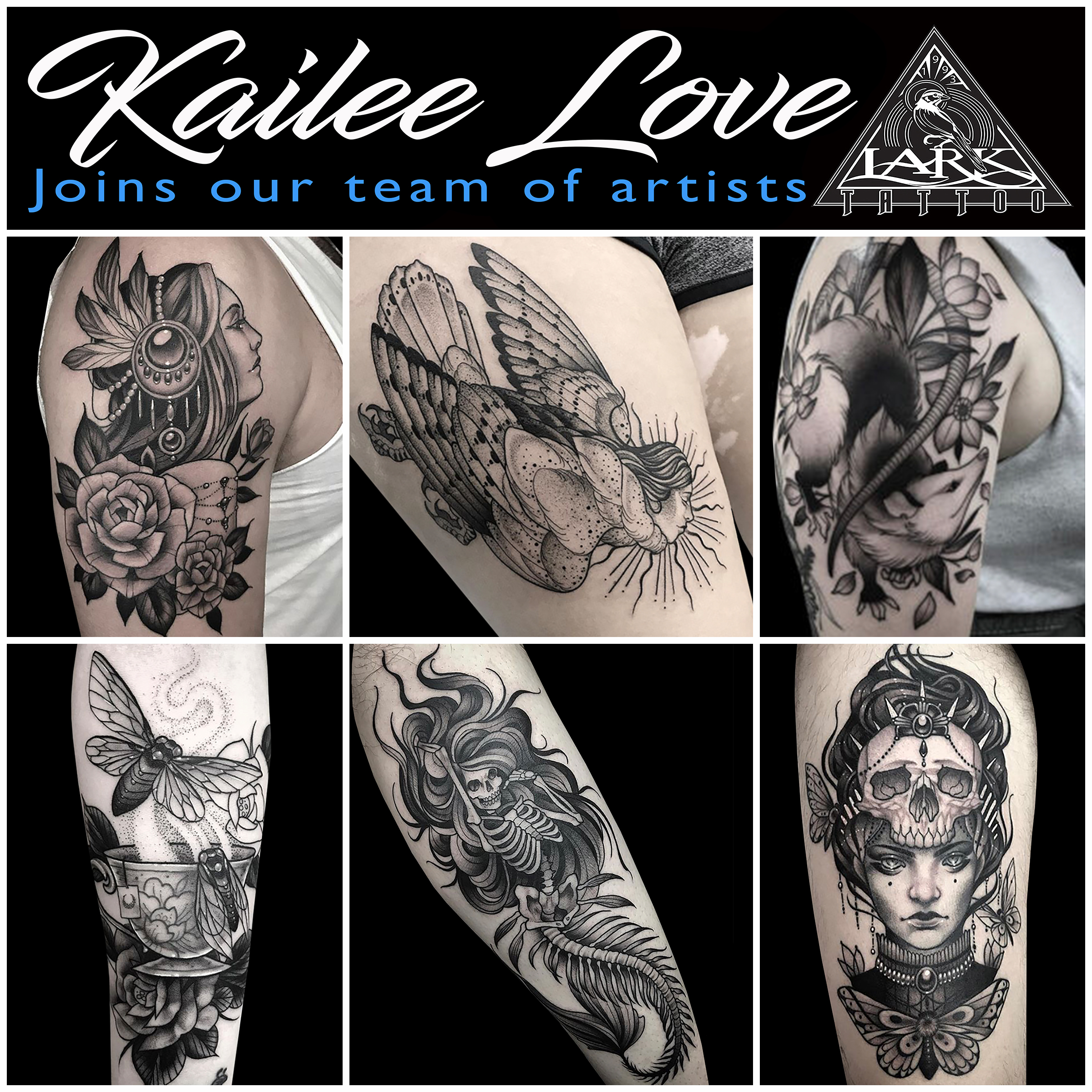 #KaileeLove #Kailee #Love,#LarkTattoo #Tattoo #Tattoos  #LadyTattoer #FemaleArtist #FemaleTattoer #BNGTattoo #BlackAndGray #BlackAndGrayTattoo #AnimalTattoo #DarkTattoo #ScaryTattoo #CreepyTattoo #TattooArtist #Tattoist #Tattooer #LongIslandTattooArtist #LongIslandTattooer #LongIslandTattoo #TattooOfTheDay #Tat #Tats #Tatts #Tatted #Inked #Ink #TattooInk #AmazingInk #AmazingTattoo #BodyArt #LarkTattooWestbury #Westbury #LongIsland #NY #NewYork #USA #Art #Tattedup #InkedUp #LarkTattoos
