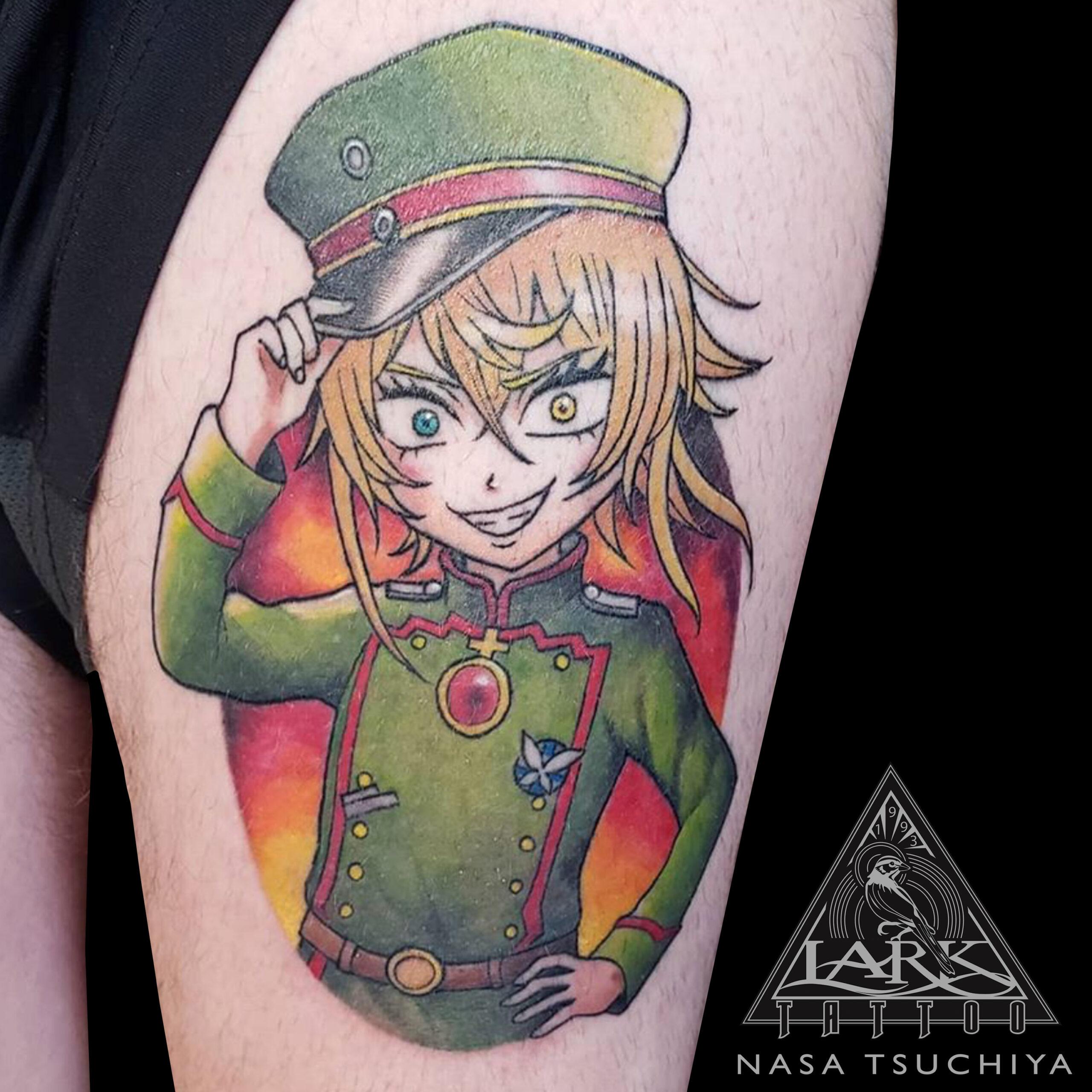 NasaTsuchiya, LarkTattoo, Tattoo, Tattoos , TattooArtist, Tattoist, Tattooer, LongIslandTattooArtist, LongIslandTattooer, LongIslandTattoo, TattooOfTheDay, Tat, Tats, Tatts, Tatted, Inked, Ink, TattooInk, AmazingInk, AmazingTattoo, BodyArt, LarkTattooWestbury, Westbury, LongIsland, NY, NewYork, USA, Art, Tattedup, InkedUp, LarkTattoos, 幼女戦記, 幼女戦記Tattoo, TheSagaOfTanyaTheEvil, TheSagaOfTanyaTheEvilTattoo, SagaOfTanyaTheEvil, SagaOfTanyaTheEvilTattoo, ColorTattoo, FemaleTattooer, FemaleArtist, LadyTattooer, TanyaTheEvil, TanyaTheEvilTattoo, Anime, AnimeLover , AnimeTattoo, Otaku, OtakuTattoo, OtakuTattooer, Tanyadegurechaff, YojoSenki, YojoSenkiTattoo, YōjoSenki, YōjoSenkiTattoo, CarloZen, ShinobuShinotsuki, Japanese, JapaneseTattoo, JapaneseCartoon, JapaneseCartoonTattoo #JapaneseAnime, JapaneseAnimeTattoo, AoiYūki, MonicaRial, Manga, MangaTattoo