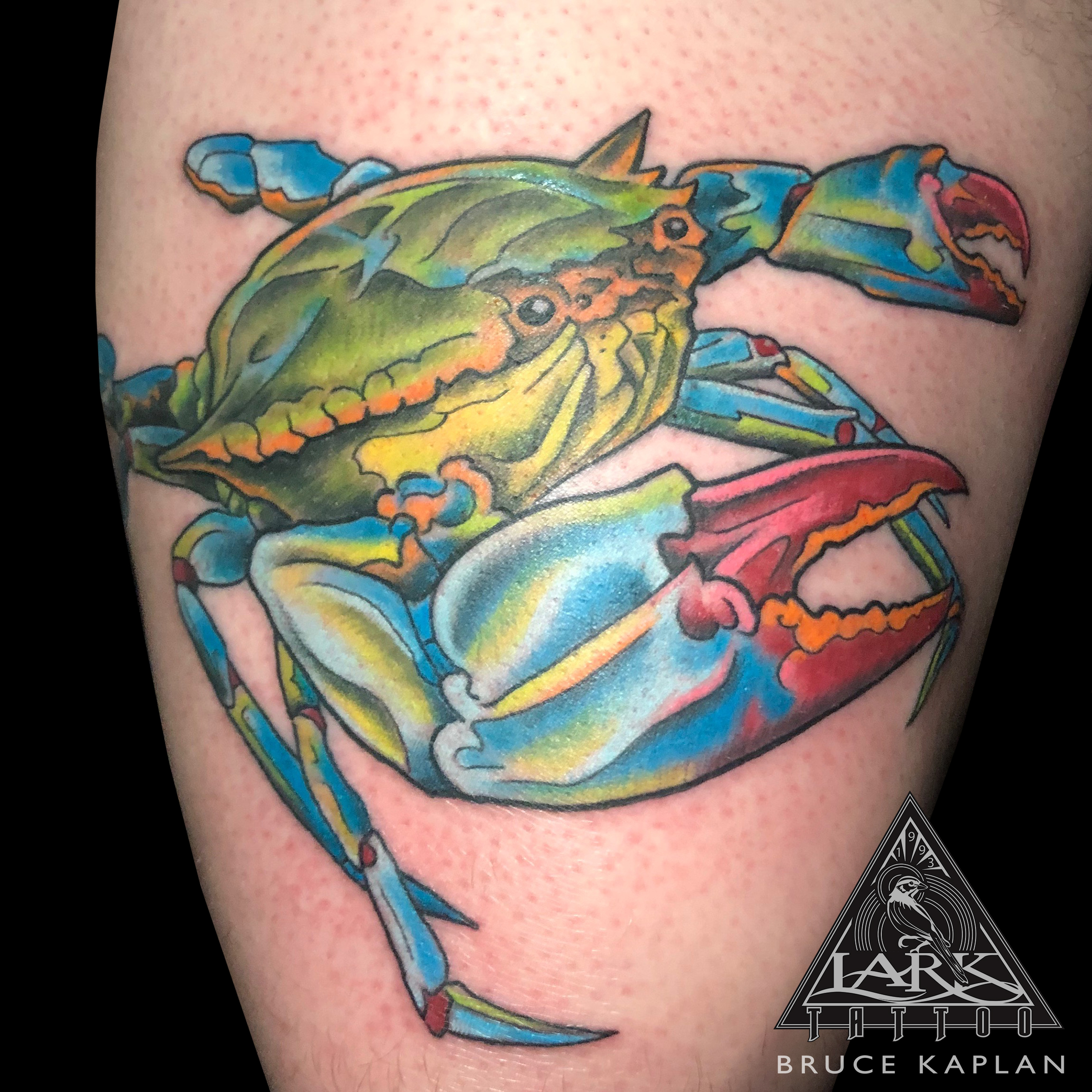 LarkTattoo, ColorTattoo, Tattoo, Tattoos, BruceKaplan, BruceKaplanTattoo, BruceKaplanLarkTattoo, Crab, CrabTattoo, BlueCrab, BlueCrabTattoo, Ocean, OceanTattoo, Sealife, SealifeTattoo, TattooArtist, Tattoist, Tattooer, LongIslandTattooArtist, LongIslandTattooer, LongIslandTattoo, TattooOfTheDay, Tat, Tats, Tatts, Tatted, Inked, Ink, TattooInk, AmazingInk, AmazingTattoo, BodyArt, LarkTattooWestbury, Westbury, LongIsland, NY, NewYork, USA, Art, Tattedup, InkedUp, LarkTattoos
