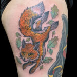 #LarkTattoo #Fox #FoxTattoo #Animal #AnimalTattoo #ColorTattoo #NealAultman #NealAultmanTattoo #NealAultmanLarkTattoo #Tattoo #Tattoos #TattooArtist #Tattoist #Tattooer #LongIslandTattooArtist #LongIslandTattooer #LongIslandTattoo #TattooOfTheDay #Tat #Tats #Tatts #Tatted #Inked #Ink #TattooInk #AmazingInk #AmazingTattoo #BodyArt #LarkTattooWestbury #Westbury #LongIsland #NY #NewYork #USA #Art #Tattedup #InkedUp #LarkTattoos
