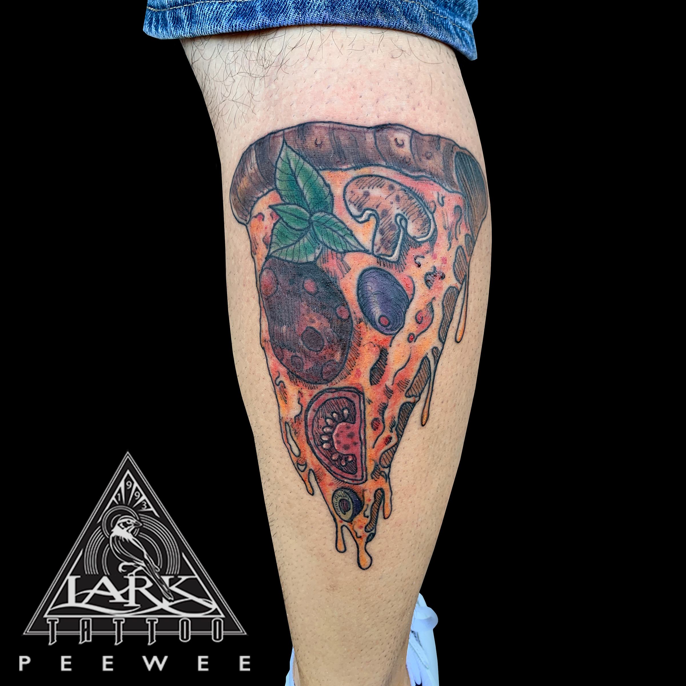 LarkTattoo, Pizza, PizzaTattoo, ColorTattoo, NYTattoo, NYPizza, NYPizzaTattoo, PeeWee, PeeWeeTattoo, PeeWeeLarkTattoo, AnthonyPeeWeeSinerco, AnthonySinerco, Tattoo, Tattoos , TattooArtist, Tattoist, Tattooer, LongIslandTattooArtist, LongIslandTattooer, LongIslandTattoo, TattooOfTheDay, Tat, Tats, Tatts, Tatted, Inked, Ink, TattooInk, AmazingInk, AmazingTattoo, BodyArt, LarkTattooWestbury, Westbury, LongIsland, NY, NewYork, USA, Art, Tattedup, InkedUp, LarkTattoos