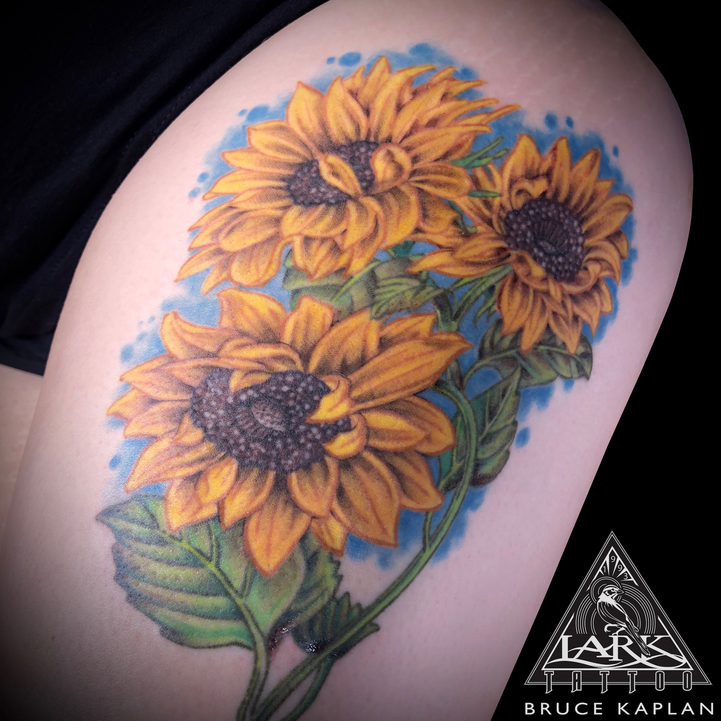 LarkTattoo, BruceKaplan, BruceKaplanTattoo, BruceKaplanLarkTattoo, Tattoo, Tattoos, SunFlowers, SunFlowersTattoo, SunFlower, SunFlowerTattoo, Flowers, FlowersTattoo, Flower, FlowerTattoo, ColorTattoo, TattooArtist, Tattoist, Tattooer, LongIslandTattooArtist, LongIslandTattooer, LongIslandTattoo, TattooOfTheDay, Tat, Tats, Tatts, Tatted, Inked, Ink, TattooInk, AmazingInk, AmazingTattoo, BodyArt, LarkTattooWestbury, Westbury, LongIsland, NY, NewYork, USA, Art, Tattedup, InkedUp, LarkTattoos