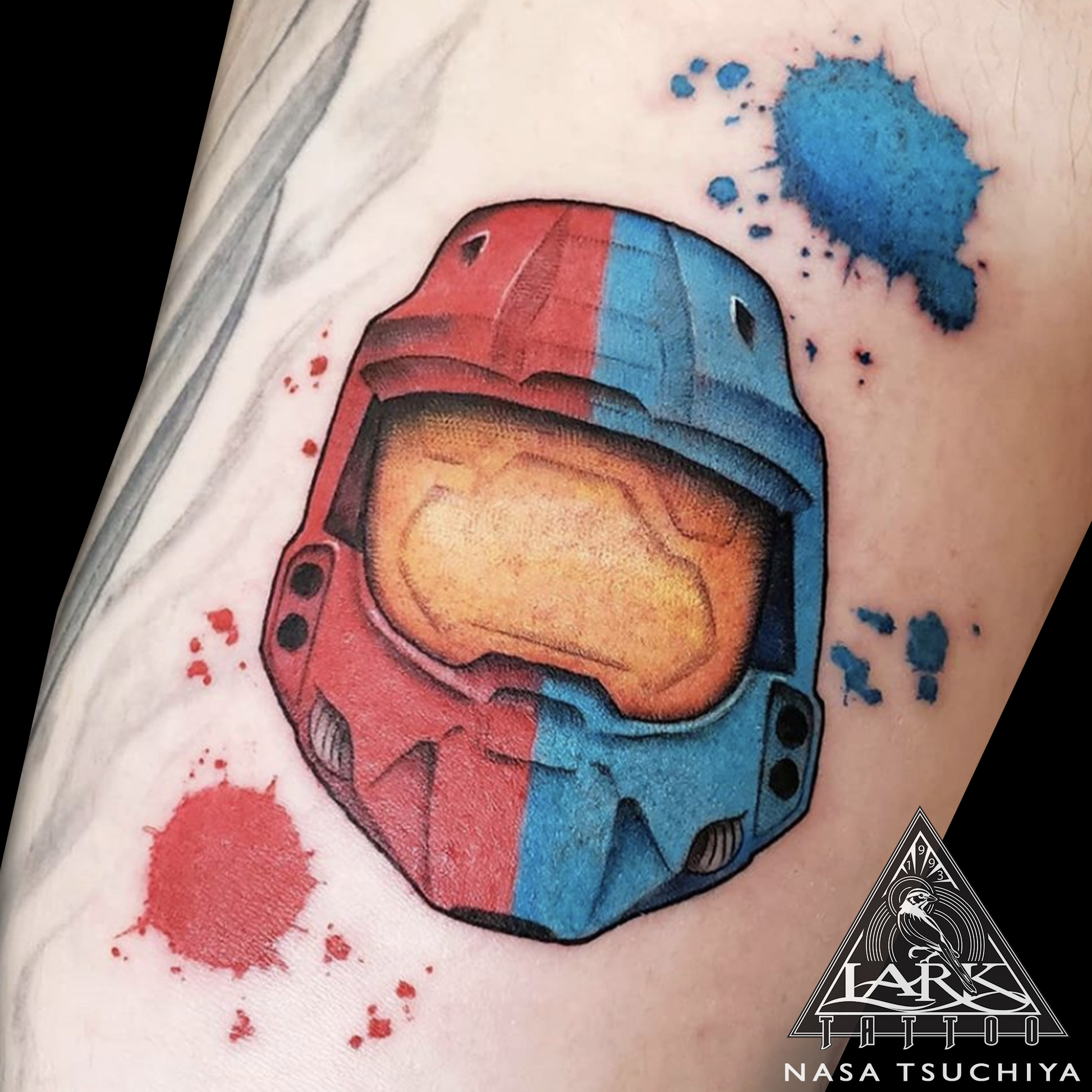 LarkTattoo, Tattoo, NasaTsuchiya, NasaLarkTattoo, NasaTsuchiyaLarkTattoo, Tattoos, Halo, HaloTattoo, VideoGame, VideoGameTattoo, Masterchief, MasterchiefTattoo, Gamer, GamerTattoo, HaloWars, HaloWarsTattoo, RedVsBlue, RedVsBlueTattoo, HaloRedVsBlue, HaloRedVsBlueTattoo, UNSC, UNSCTattoo, ColorTattoo, LadyTattooer, FemaleTattooer, FemaleArtist, FemaleTattooArtist, TattooArtist, Tattoist, Tattooer, LongIslandTattooArtist, LongIslandTattooer, LongIslandTattoo, TattooOfTheDay, Tat, Tats, Tatts, Tatted, Inked, Ink, TattooInk, AmazingInk, AmazingTattoo, BodyArt, LarkTattooWestbury, Westbury, LongIsland, NY, NewYork, USA, Art, Tattedup, InkedUp, LarkTattoos