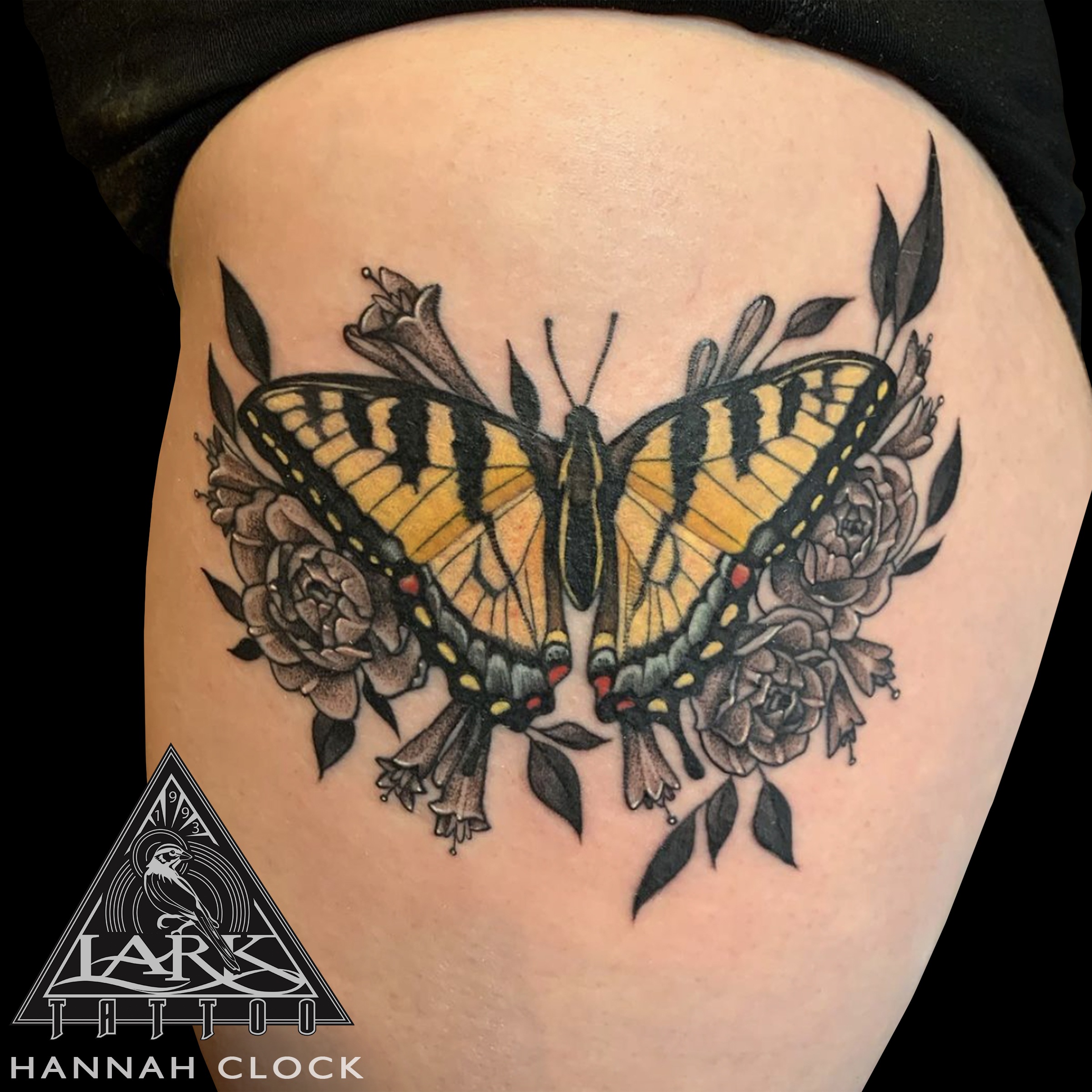 LarkTattoo, HannahClock, HannahClockLarkTattoo, Tattoo, Tattoos, Butterfly, ButterflyTattoo, YellowButterfly, YellowButterflyTattoo, TigerSwallowtail, TigerSwallowtailTattoo, TigerSwallowtailButterfly, TigerSwallowtailButterflyTattoo, SwallowtailButterfly, SwallowtailButterflyTattoo, PapilioGlaucus, PapilioGlaucusTattoo, Rose, RoseTattoo, Roses, RosesTattoo, ColorTattoo, FemaleArtist, FemaleTattooArtist, FemaleTattooer, LadyTattooer, BeutifulTattoo, LongIslandTattooArtist, LongIslandTattooer, LongIslandTattoo, TattooArtist, Tattoist, Tattooer, TattooOfTheDay, Tat, Tats, Tatts, Tatted, Inked, Ink, TattooInk, AmazingInk, AmazingTattoo, BodyArt, LarkTattooWestbury, Westbury, LongIsland, NY, NewYork, USA, Art, Tattedup, InkedUp, LarkTattoos