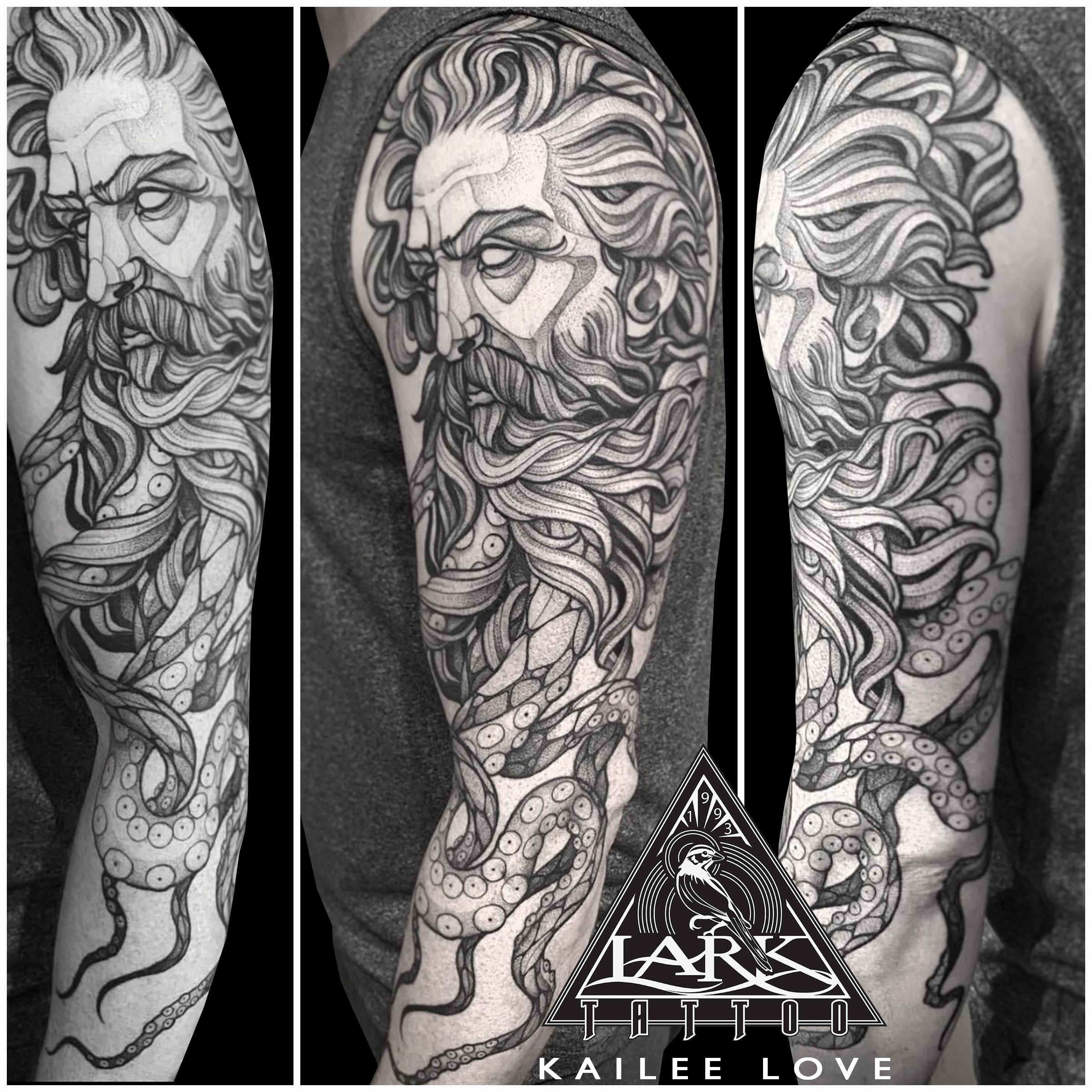 LarkTattoo, KaileeLove, KaileeLoveLarkTattoo, Tattoo, Tattoos, Poseidon, PoseidonTattoo, Mythology, MythologyTattoo, BNG, BNGTattoo, BNGInksociety, BlackAndGray, BlackAndGrayTattoo, BlackAndGrey, BlackAndGreyTattoo, FullSleeve, FullSleeveTattoo, TattooSleeve, SleeveTattoo, LargeScaleTattoo, FullArmTattoo, ArmTattoo, FemaleTattooer, FemaleArtist, LadyTattooer, TattooArtist, Tattoist, Tattooer, LongIslandTattooArtist, LongIslandTattooer, LongIslandTattoo, TattooOfTheDay, Tat, Tats, Tatts, Tatted, Inked, Ink, TattooInk, AmazingInk, AmazingTattoo, BodyArt, LarkTattooWestbury, Westbury, LongIsland, NY, NewYork, USA, Art, Tattedup, InkedUp, LarkTattoos