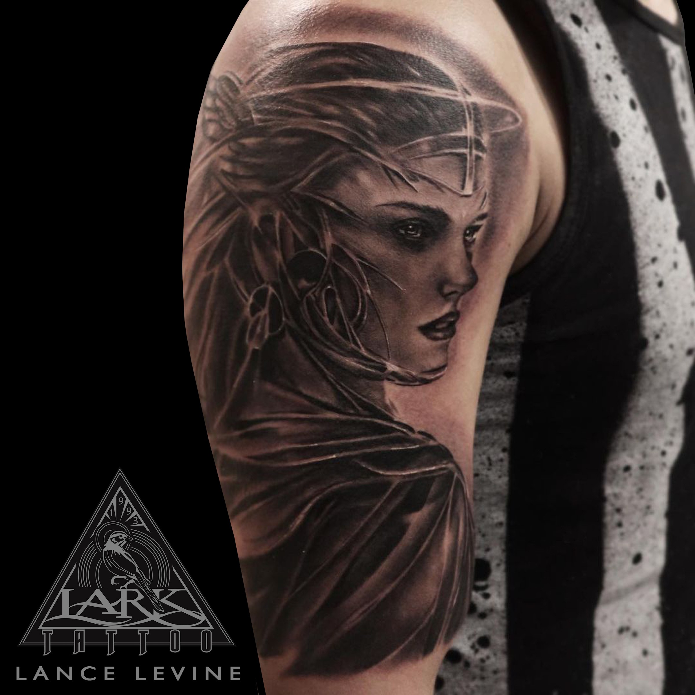 #LarkTattoo #Tattoo #Tattoos #LanceLevine #LanceLevineLarkTattoo #Valkyrie #ValkyrieTattoo #Viking #VikingTattoo #Norse #NorseTattoo #Mythology #MythologyTattoo #Fantasy #FantasyTattoo #FantasyArt #SolidInk #SolidInkTattoo #BishopWand #BishopWandTattoo #BNG #BNGTattoo #BNGInk #BNGInkTattoo #BlackAndGray #BlackAndGrayTattoo #BlackAndGrey #BlackAndGreyTattoo #BlackAndGrayRealism #BlackAndGrayRealismTattoo #BlackAndGreyRealism #BlackAndGreyRealismTattoo #Realism #RealismTattoo #Realistic #RealisticTattoo #TattooArtist #Tattoist #Tattooer #LongIslandTattooArtist #LongIslandTattooer #LongIslandTattoo #TattooOfTheDay #Tat #Tats #Tatts #Tatted #Inked #Ink #TattooInk #AmazingInk #AmazingTattoo #BodyArt #LarkTattooWestbury #Westbury #LongIsland #NY #NewYork #USA #Art #Tattedup #InkedUp #LarkTattoos